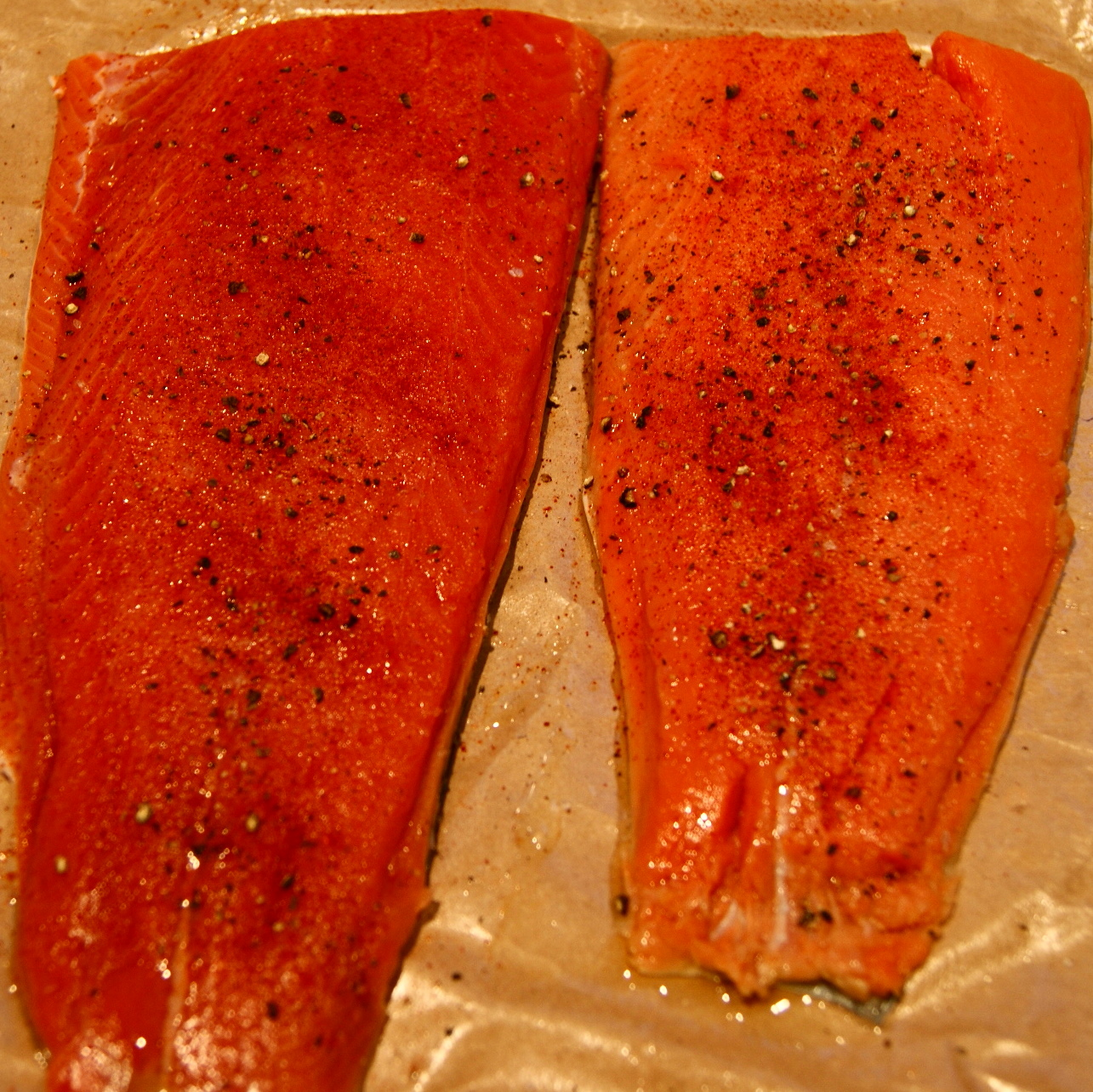 how to cook sockeye salmon in oven