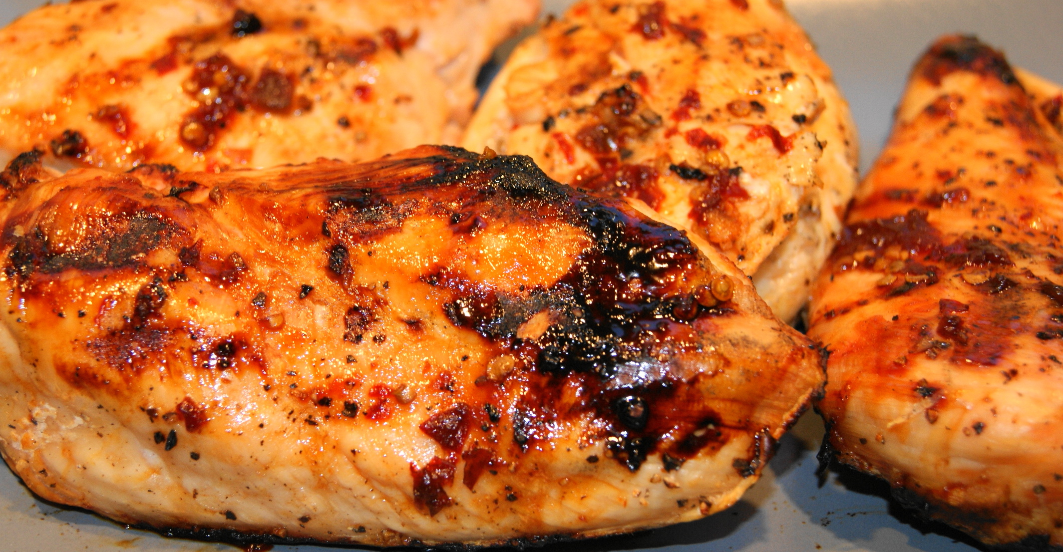 Sweet and Spicy Grilled Chicken Breast | Living Life On Purpose