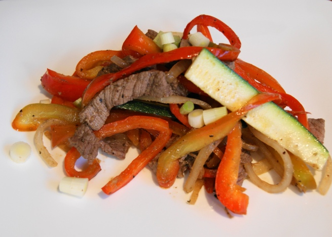 Top Sirloin Steak Stir Fry