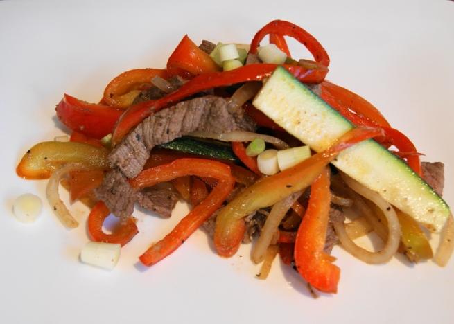 Top Sirloin Steak Stir Fry